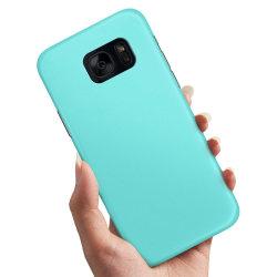 Samsung Galaxy S7 Edge - Skal / Mobilskal Turkos