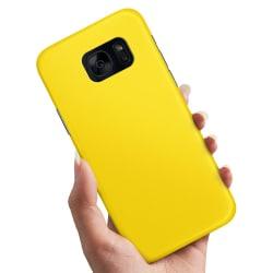Samsung Galaxy S7 - Skal / Mobilskal Gul Gul