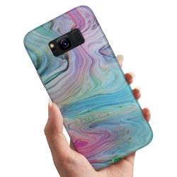 Samsung Galaxy S8 Plus - Skal / Mobilskal Målarfärg Mönster