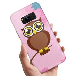 Samsung Galaxy S8 Plus - Skal / Mobilskal Stor Uggla