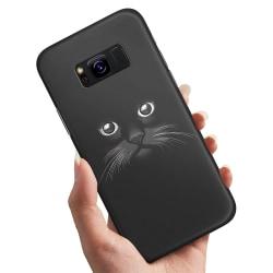 Samsung Galaxy S8 Plus - Skal / Mobilskal Svart Katt Svart