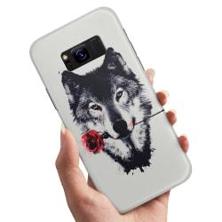 Samsung Galaxy S8 Plus - Skal / Mobilskal Varg Ros