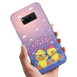 Samsung Galaxy S8 - Skal / Mobilskal Badande Ankor