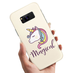 Samsung Galaxy S8 - Skal / Mobilskal Magisk Ponny / Unicorn
