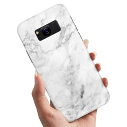 Samsung Galaxy S8 - Skal / Mobilskal Marmor