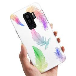 Samsung Galaxy S9 Plus - Skal / Mobilskal Fjädrar