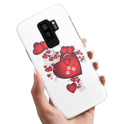 Samsung Galaxy S9 Plus - Skal / Mobilskal Hjärtan
