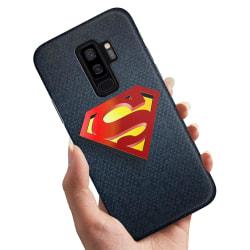 Samsung Galaxy S9 Plus - Skal / Mobilskal Superman Märke