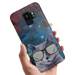 Samsung Galaxy S9 - Skal / Mobilskal Cat Space