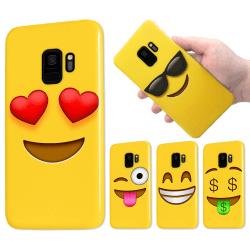 Samsung Galaxy S9 - Skal / Mobilskal - Emoji - 15 Olika Motiv 12