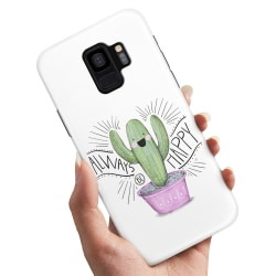 Samsung Galaxy S9 - Skal / Mobilskal Happy Cactus