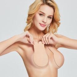 Självhäftande BH / Brösttejp / Stick on Bra med Push Up - L/XL