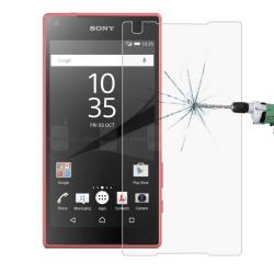 Skärmskydd - Sony Xperia Z5 Compact - Härdat Glas / Skyddsglas