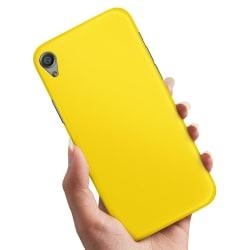 Sony Xperia Z5 - Skal / Mobilskal Gul