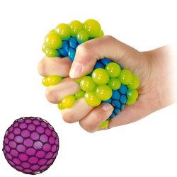Stressboll / Klämboll i Nät - 7 cm