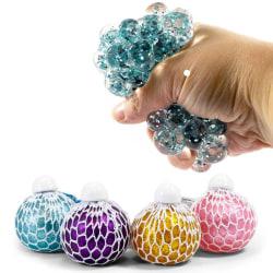 Stressboll / Klämboll i Nät - Glitter