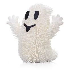 Stressboll med LED / Klämboll - Spöke Vit
