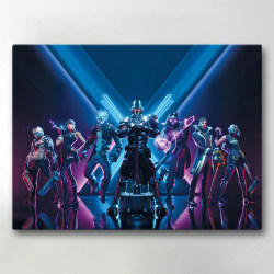 Tavla / Canvastavla - Fortnite - 24x18 cm - Canvas