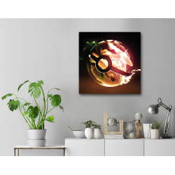 Tavla / Canvastavla - Pokemon - 30x30 cm - Canvas