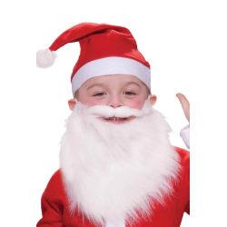 Tomteskägg för Barn / Låtsas Skägg - Jul - Tomte