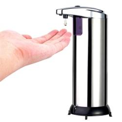 Tvålpump Automatisk / Tvålautomat med Sensor - Silver - Tvål
