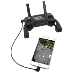 USB Typ-C till Micro-USB för DJI Mavic Pro / Spark (30cm)