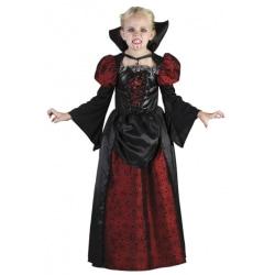 Vampyr Barn Maskeraddräkt 122-134 cm - Halloween & Maskerad
