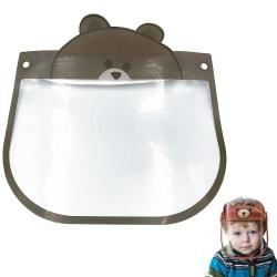Visir för Barn / Skyddsvisir - Skydd för Ansikte Mun - Björn Transparent