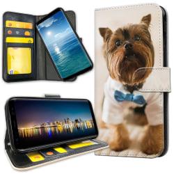 Xiaomi Mi 9T Pro - Plånboksfodral Hund med Fluga
