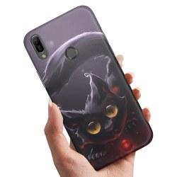 Xiaomi Mi A2 Lite - Skal / Mobilskal Svart Katt