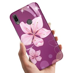 Xiaomi Mi A2 Lite - Skal / Mobilskal Vit Blomma