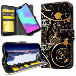 Xiaomi Mi A2 - Plånboksfodral Guldmönster