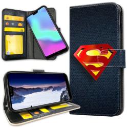 Xiaomi Mi A2 - Plånboksfodral Superman Märke