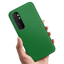 Xiaomi Mi Note 10 Lite - Skal / Mobilskal Grön