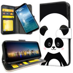 Xiaomi Mi Note 10 - Plånboksfodral Cute Panda