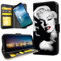 Xiaomi Mi Note 10 - Plånboksfodral Marilyn Monroe