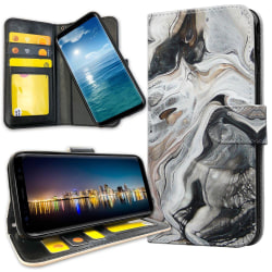 Xiaomi Mi Note 10 - Plånboksfodral Marmor