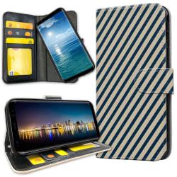 Xiaomi Mi Note 10 - Plånboksfodral Randigt Mönster