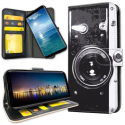 Xiaomi Mi Note 10 - Plånboksfodral Retro Kamera
