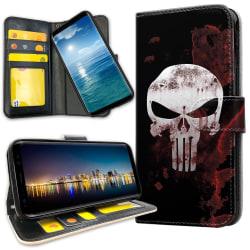 Xiaomi Mi Note 10 - Plånboksfodral The Punisher