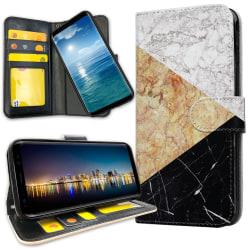 Xiaomi Mi Note 10 Pro - Plånboksfodral Marmorskivor