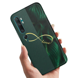 Xiaomi Mi Note 10 - Skal / Mobilskal Infinite Love