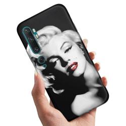 Xiaomi Mi Note 10 - Skal / Mobilskal Marilyn Monroe