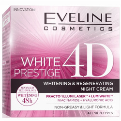 NY! White Prestige 4D Whitening And Regenerating Night Cream