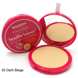 Bourjois Healthy Balance Matte 10H Powder  -  55 Beige Fonce