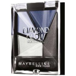 Maybelline Diamond Glow Pearl Quad Eye Shadow-03 Blue Drama