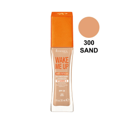 Rimmel Wake Me Up SPF15 Anti-Fatigue Foundation - 300 Sand