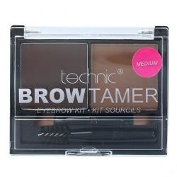 Technic Brow Tamer Kit *Medium*-Brush+Wax+Powder