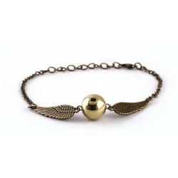 Harry Potter Armband - Gyllene Kvicken - Golden Snitch - Brons Brons
