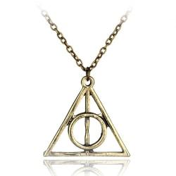 Harry Potter Halsband - Deathly Hallows - Dödsrelikerna - Brons Brons